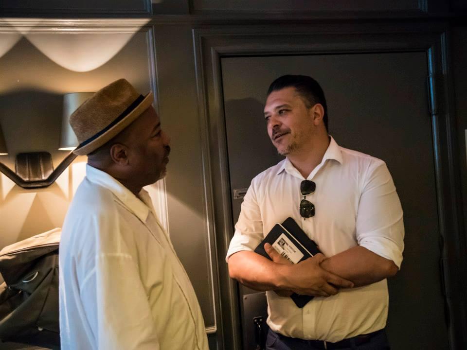 photo with fellow Doris Duke Award Artist Alonzo King, June 2015
