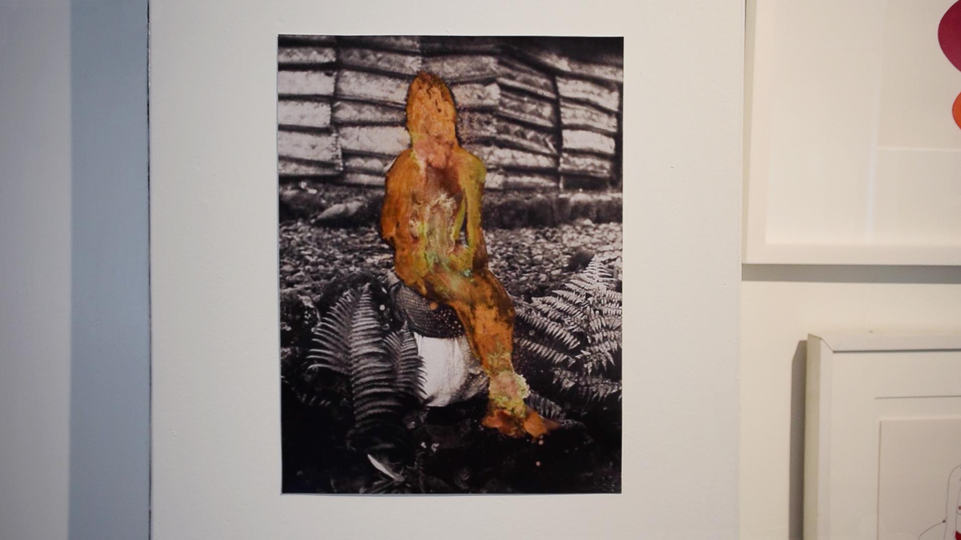 mixed-media photograph by Sara Jimenez
