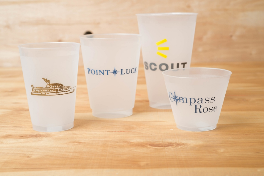 Shatterproof cups in all sizes and quantities