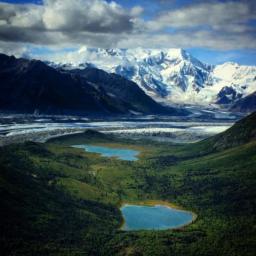 Donahoe Lakes, Mount Blackburn & the Kennicott Glacier