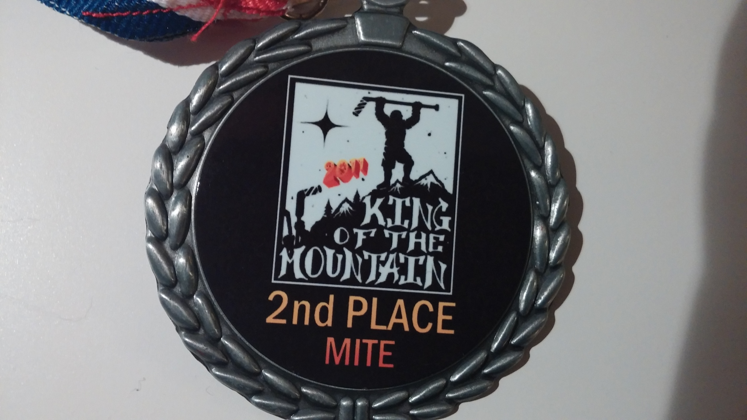 2nd place King of the Mountain
