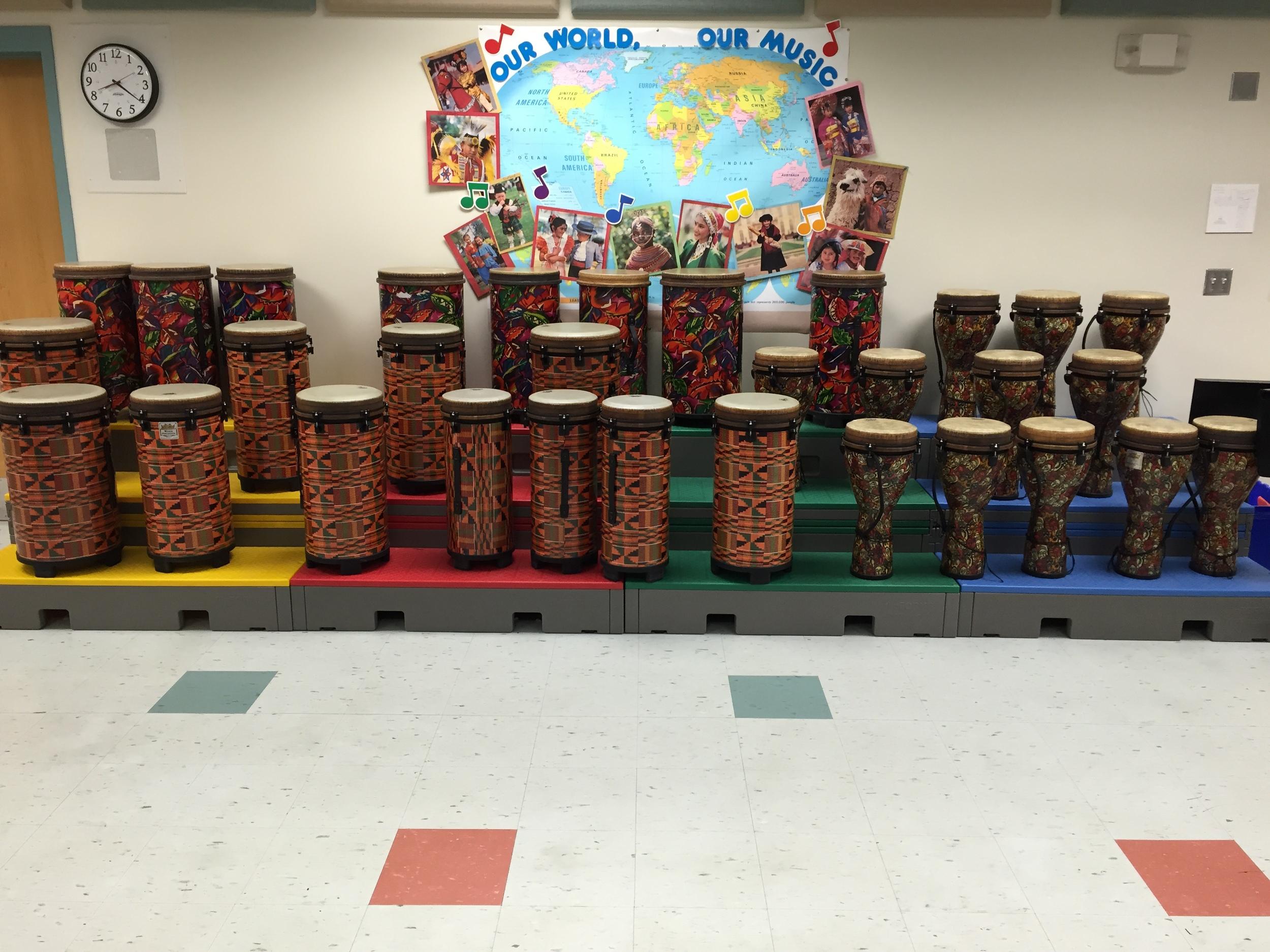 African Drums, Chickering School