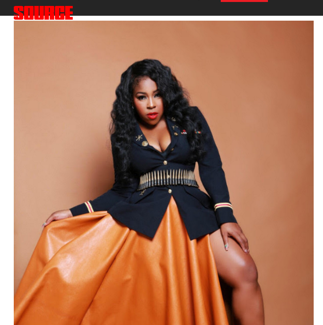 Featured on Cover of Source.com - BRANDING EXTRAORDINAIRE MZ. SKITTLEZ OF CUPCAKE MAFIA TALKS UPCOMING FOREVER 21 COLLAB