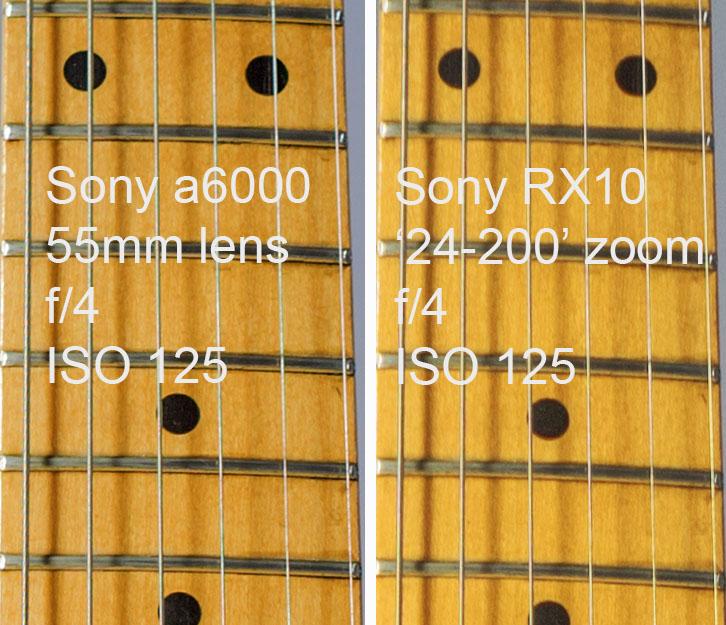 Sony RX10 Sony a6000