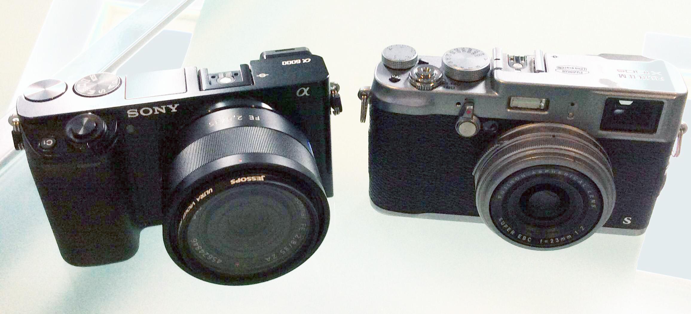 Sony a6000,  Sony FE 35mm f2.8 ZA Carl Zeiss Sonnar T* Lens, Fuji X100s