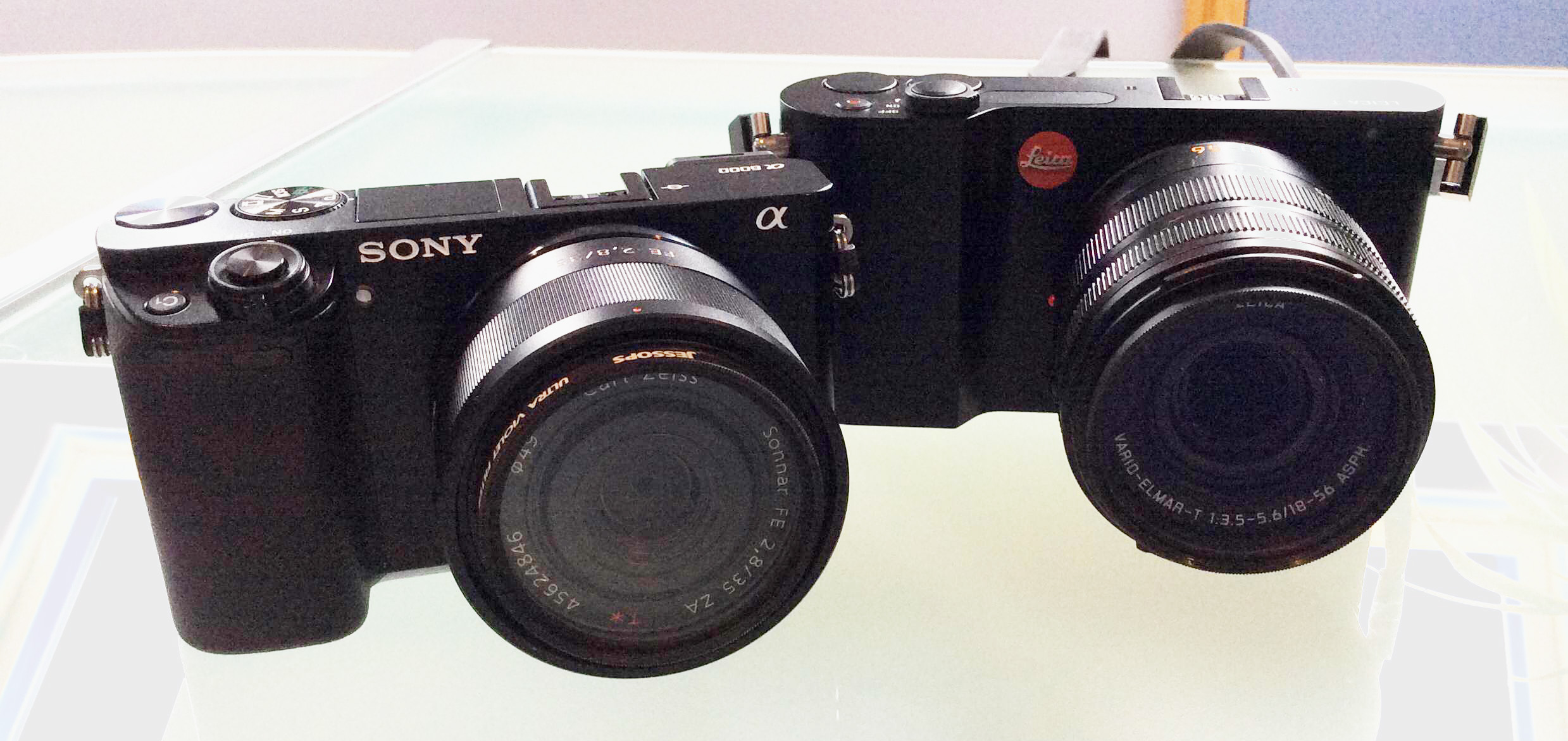 Sony a6000,Sony SEL55F18Z E-mount Carl Zeiss Full Frame Prime Lens,Leica T (Typ 701)