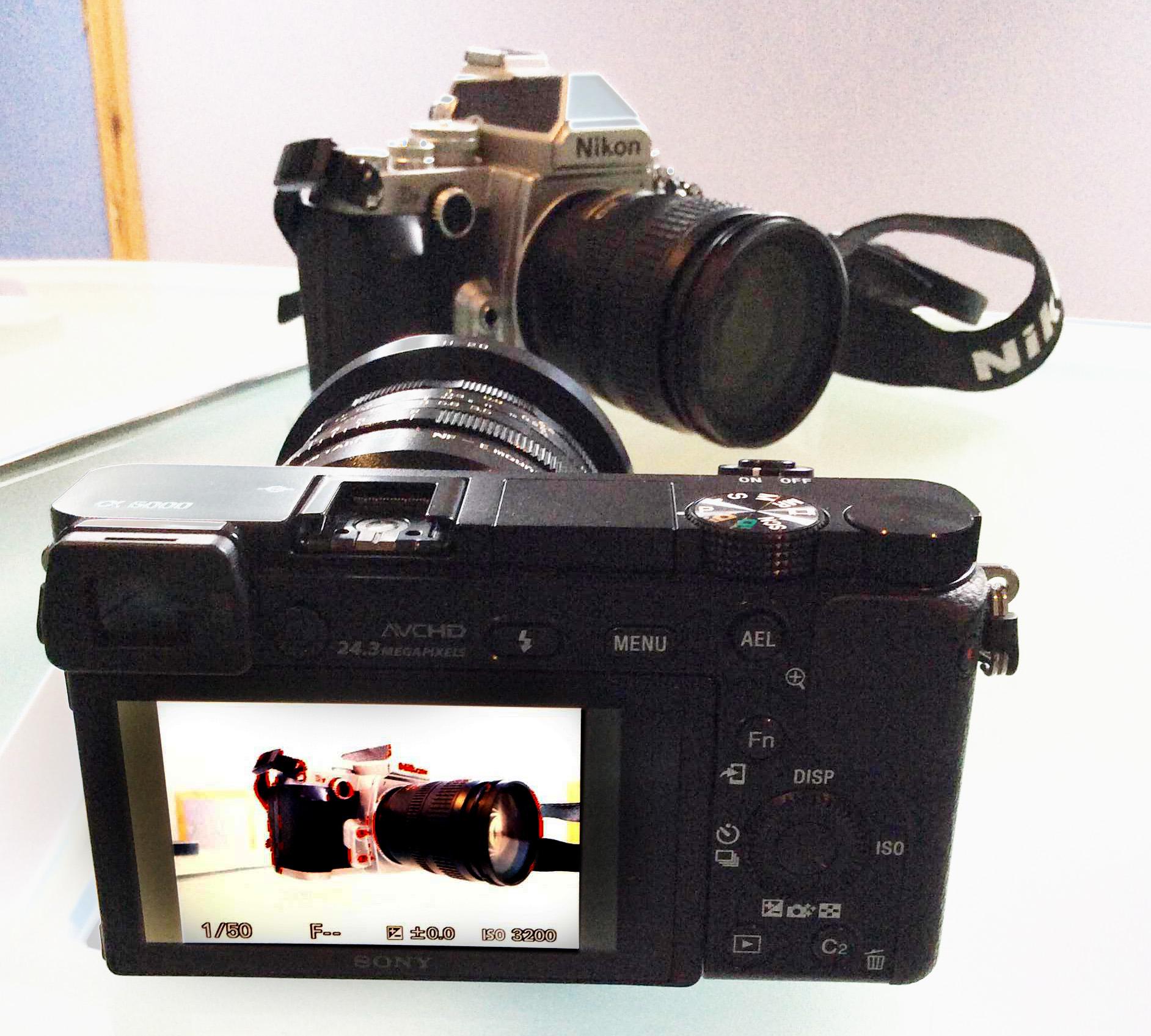 Sony a6000, Voigtländer 20mm f/3.5SL-II AsphericalAI-P (Nikon F-Mount), Kipon Nikon F > e-mount adapter, Nikon Df