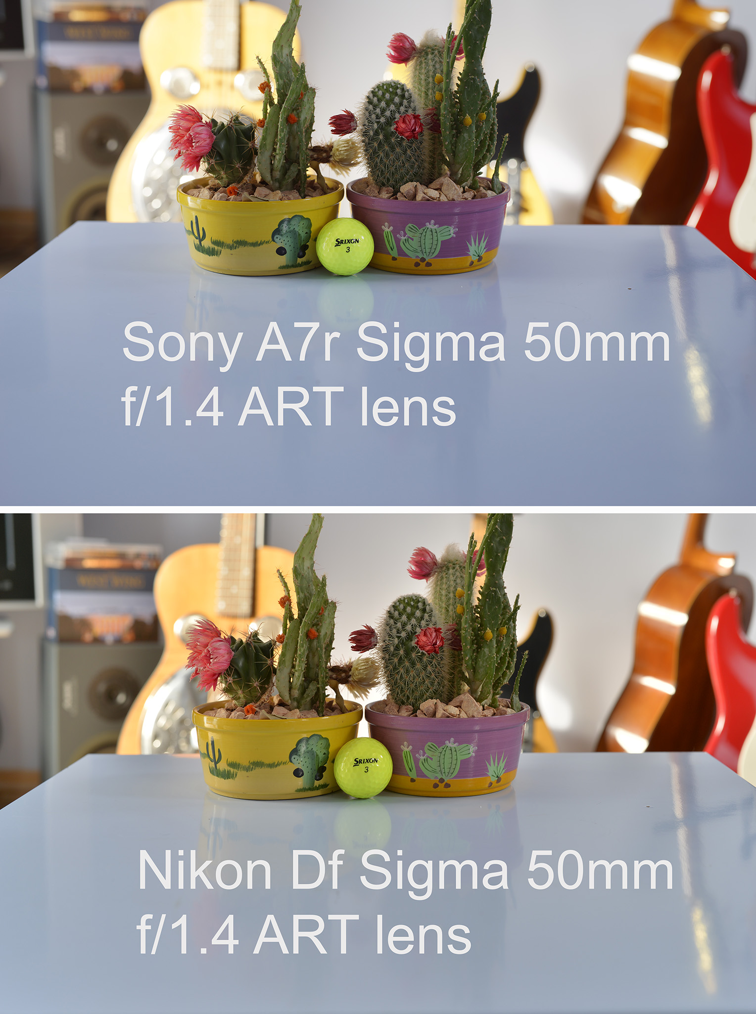 Nikon Df and Sony A7r both fitted with  Sigma 50mm f/1.4 ART lens