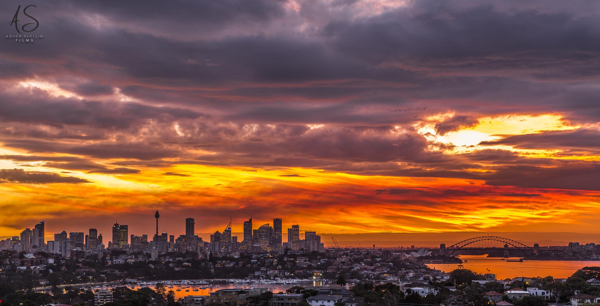 'Autumn Set'  - Sydney 5:10 Pm, 20 May 2014
