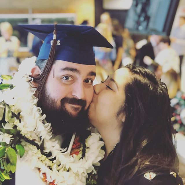 Beyond extremely proud of this guy. It's been one crazy adventure up to this point and I can't wait to see what the next chapter holds for us. Thank you for letting be a part of it. #olivejuice #animation #gonzosanimationadventure #CFAgrad #byugrad #byu #byeutahitsbeenreal