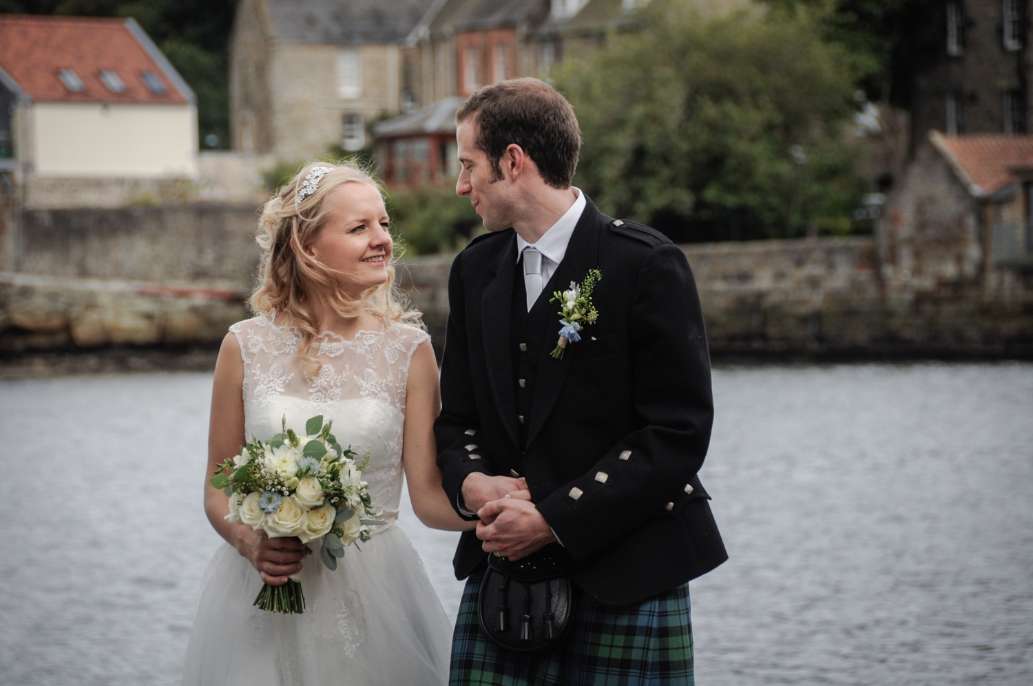 Chris & Emily - Thank you so much for the amazing photos they are perfect! Had an absolutely fab wedding day and it was great having Alison there to capture it!- Orocco Pier, South Queensferry, Edinburgh