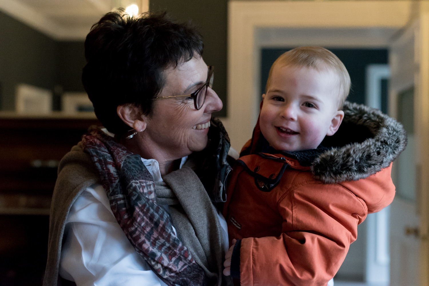 Family Photo Shoot In Dunfermline - granny and grandson_01