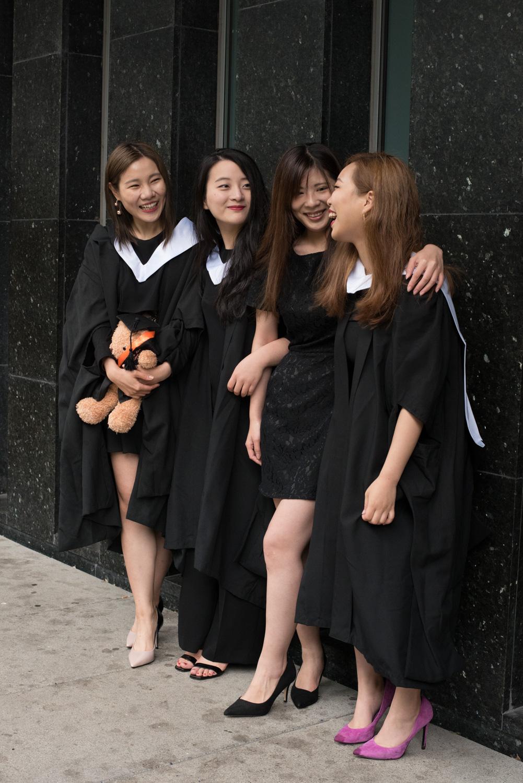 graduation photography - edinburgh university library