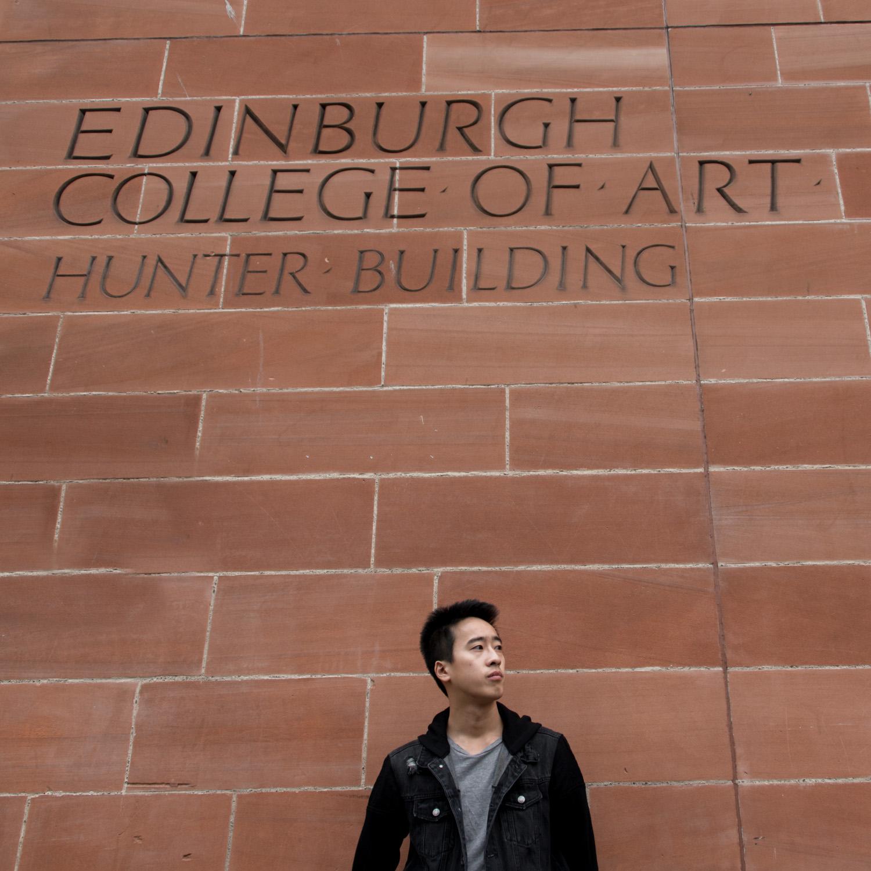 edinburgh photography - edinburgh college of art- graduation photoshoot