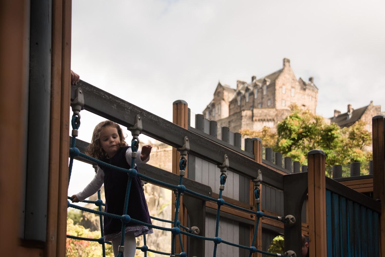 edinburgh photography - princes street gardens