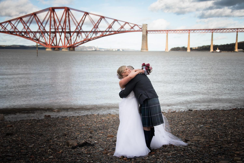 edinburgh photography - Orocco Pier Wedding