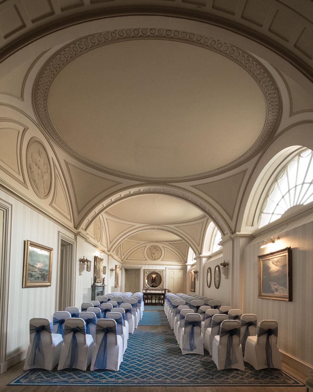 Weddings At Balbirnie House - the long gallery