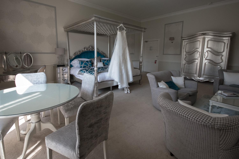 Weddings At Balbirnie House - bridal suite