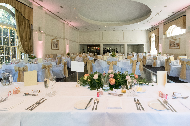 Weddings At Balbirnie House - the ballroom