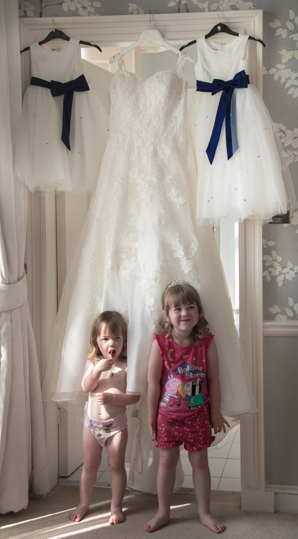 Weddings At Balbirnie House - bridesmaids getting ready