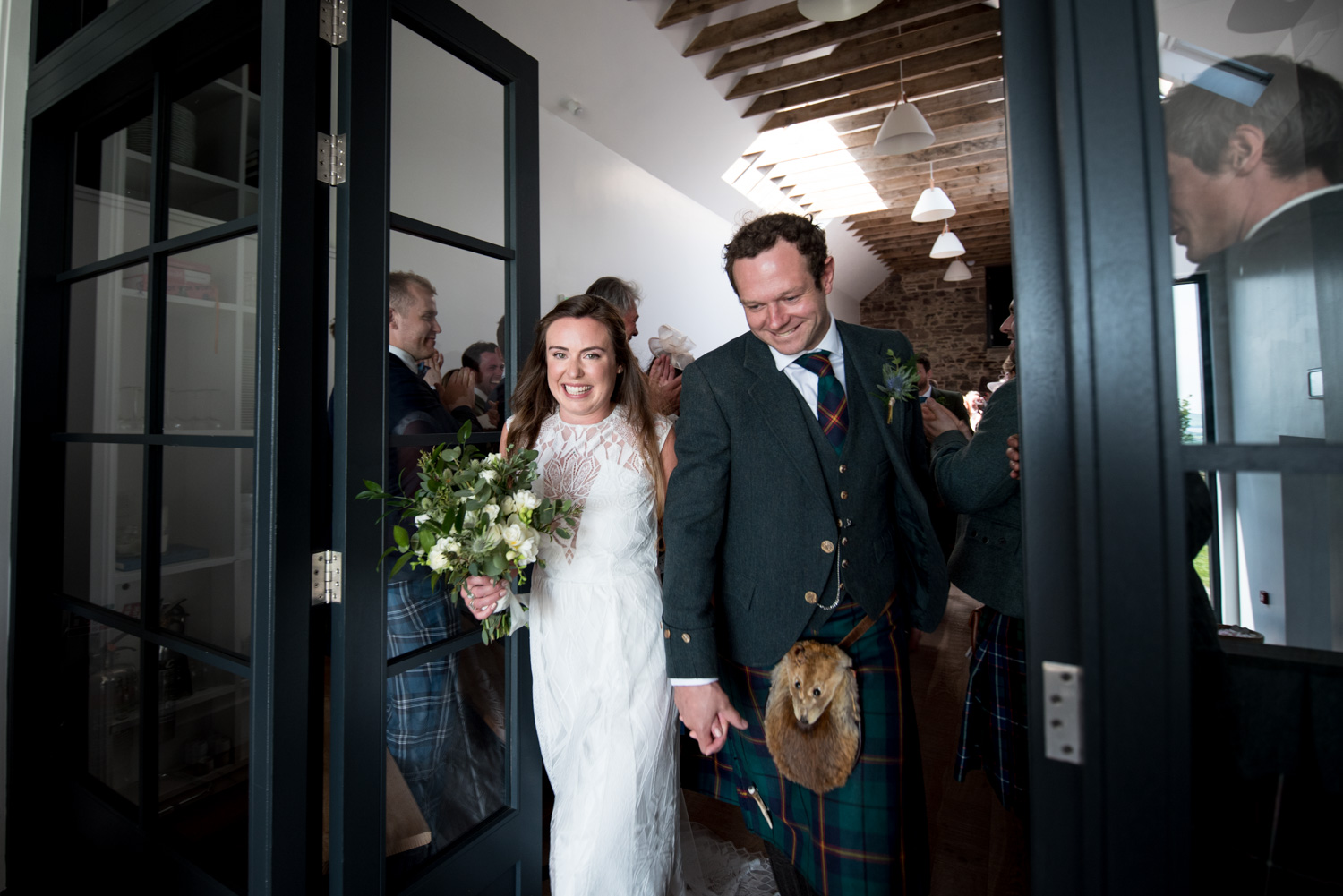 Guardswell Farm - Bride and Groom2