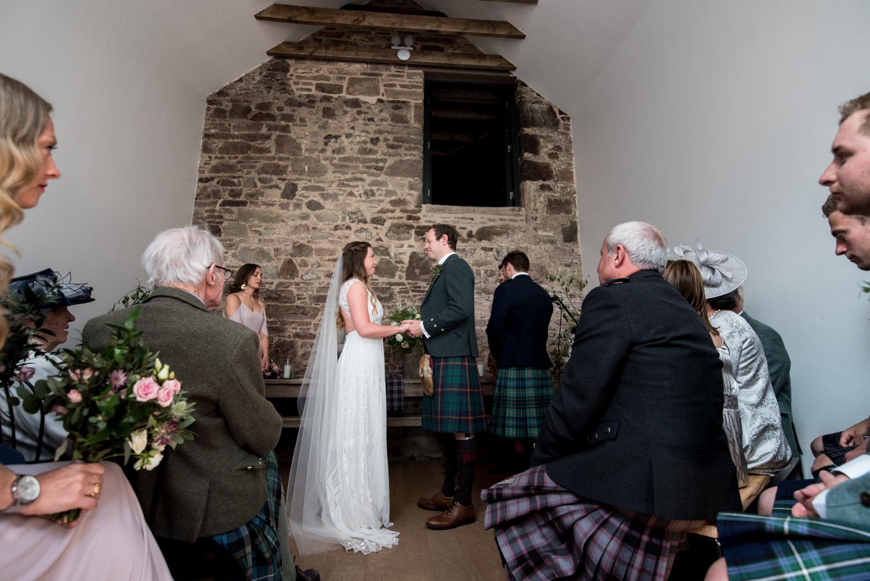 Guardswell Farm - wedding ceremony 02