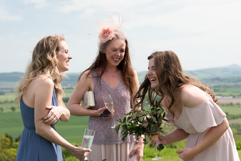 Guardswell Farm - wedding guests 02