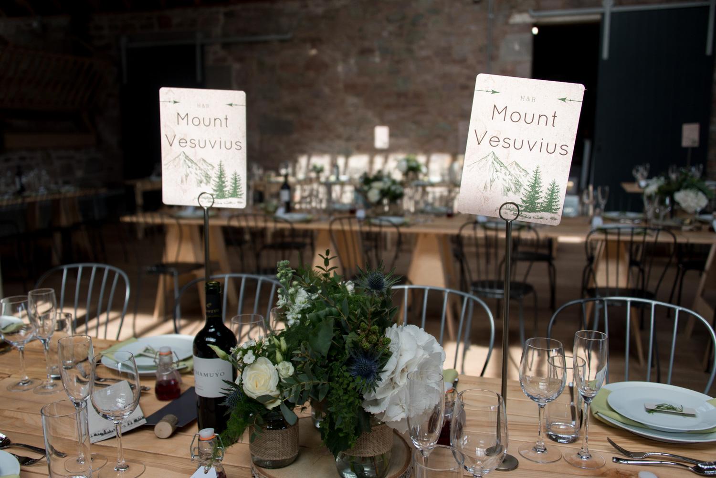 Guardswell Farm - wedding tables