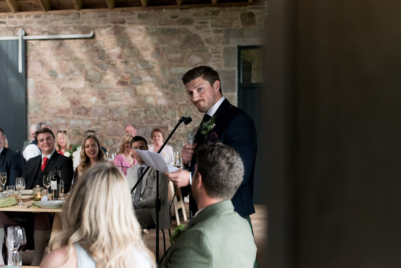 Guardswell Farm - Wedding speeches, best man's speech