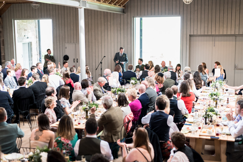 Guardswell Farm - Wedding speeches, grooms speech