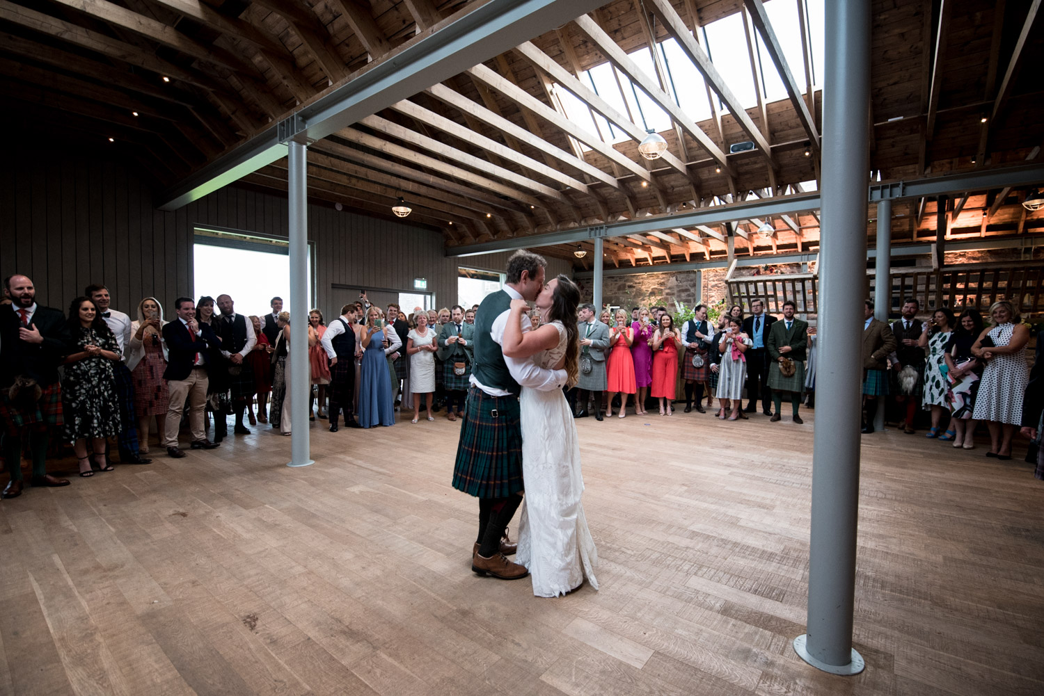 Guardswell Farm - first dance in the Cattle Court 02