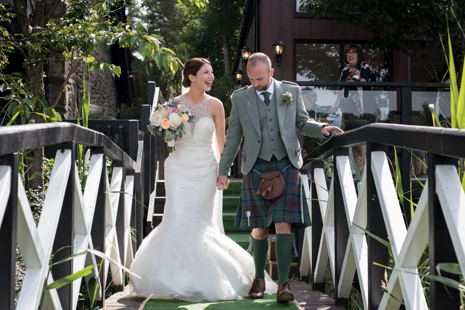 Documentary Wedding Photographer Edinburgh - Forbes of Kingennie