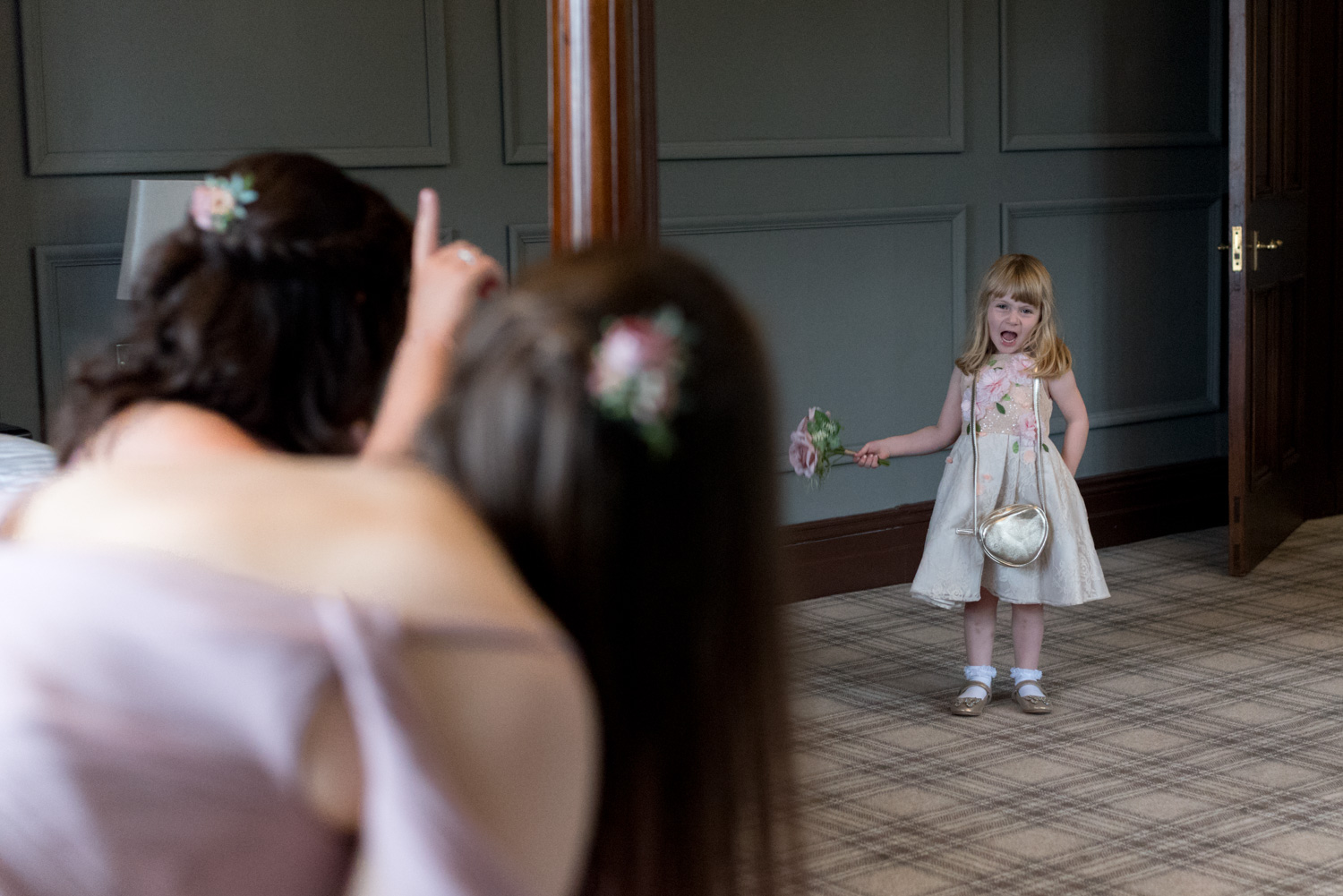 Documentary Wedding Photographer Edinburgh - Murrayshall Hotel, Perth