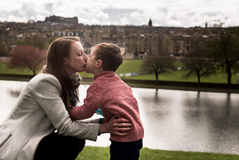 Edinburgh Family Photo Shoot - Inverleith Park
