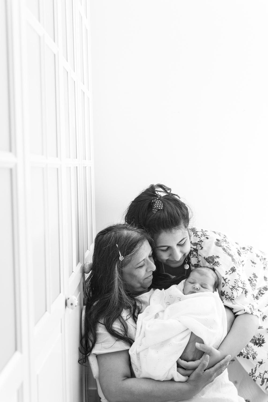 Newborn Photo Shoot - family photos 3 generations 02