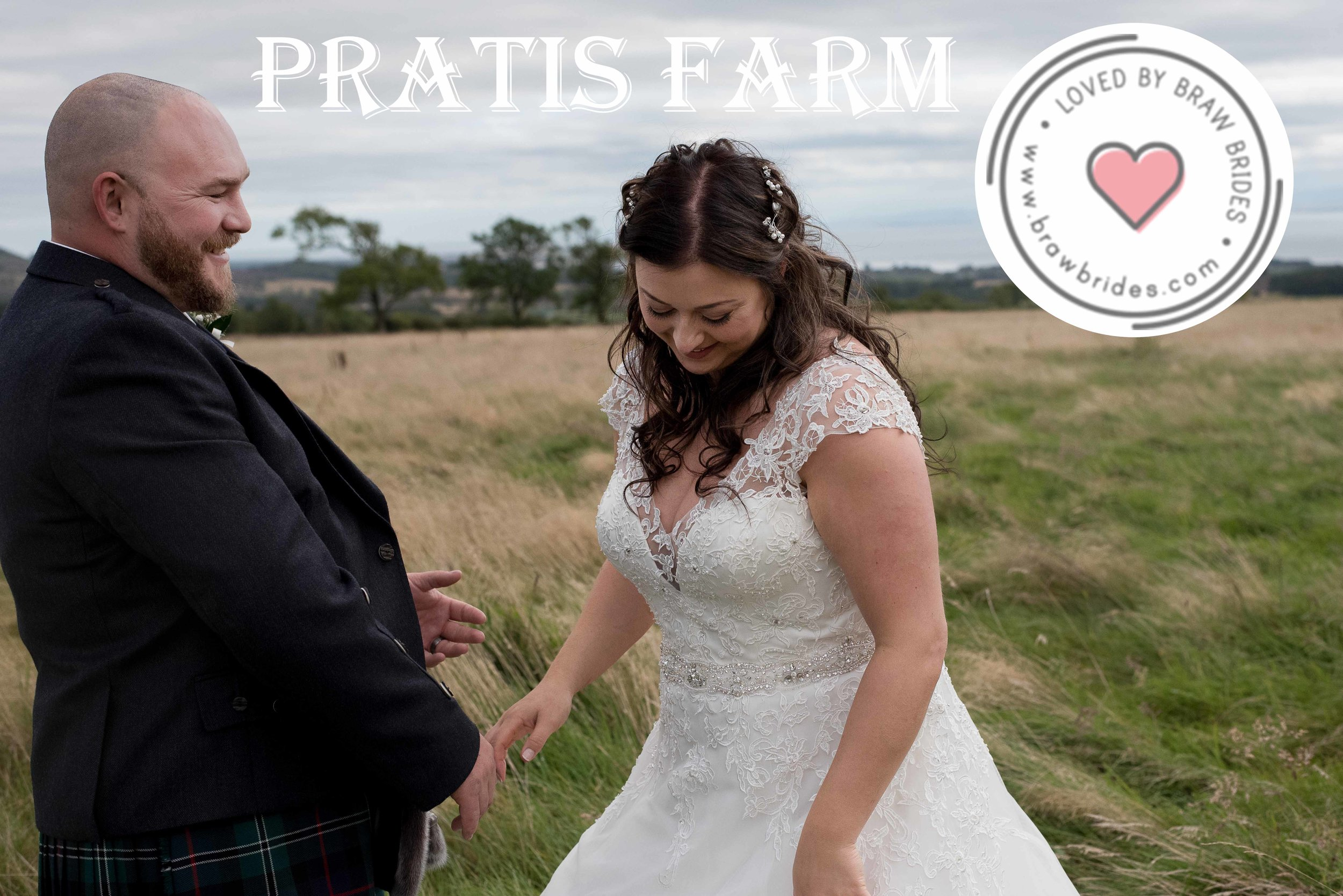 Pratis Farm Wedding - Braw Brides