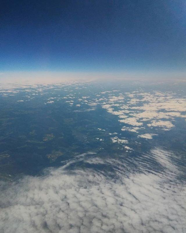 Hauteur de vue. #sky #flight