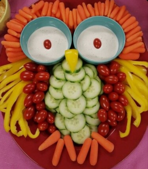 Have fun with vegetables!