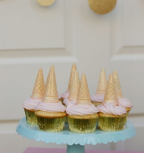 Easy unicorn cupcake ideas from pinterest