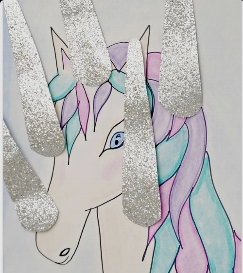 pin the horn on the unicorn from pinterest