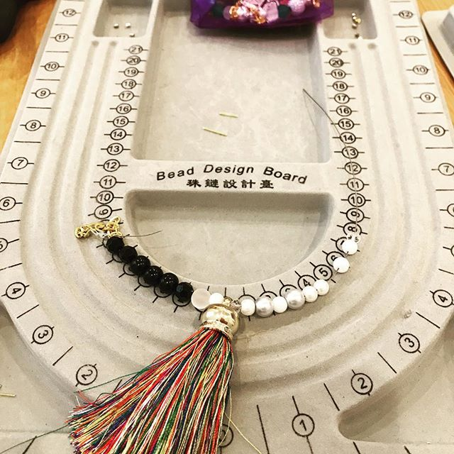 New tassels - our designers are loving them! -#kidspartyideas #jewellerymaking