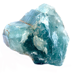 "AQUAMARINE:   Calming, soothing, stone of the sea, aquamarine was worn by sailors as a talisman of good luck because they believed these were the stones of the mermaids. The colors within aquamarine emulate the colors within the sea, which give it a gentle cleansing stone that inspires letting go. The bluish-green hue of the stone is created by the iron oxide within it's make-up, which has been connected with it's ability to energetically respond to the magnetic pull of the moon. It is used as a ""forecasting"" stone and used in today's world by shamans and a variety of other healers. It is a reflective stone, used like a mirror when gazing at one's own deepest, darkest inner workings so that healing can occur. In matters of love, aquamarine assists two people with different life-styles co-habitate more fluidly and aids in fidelity within relationships. We love using aquamarine because we love all things related to mermaids as well as the sea, and the force and power to consider when taking deep breaths before going under water."