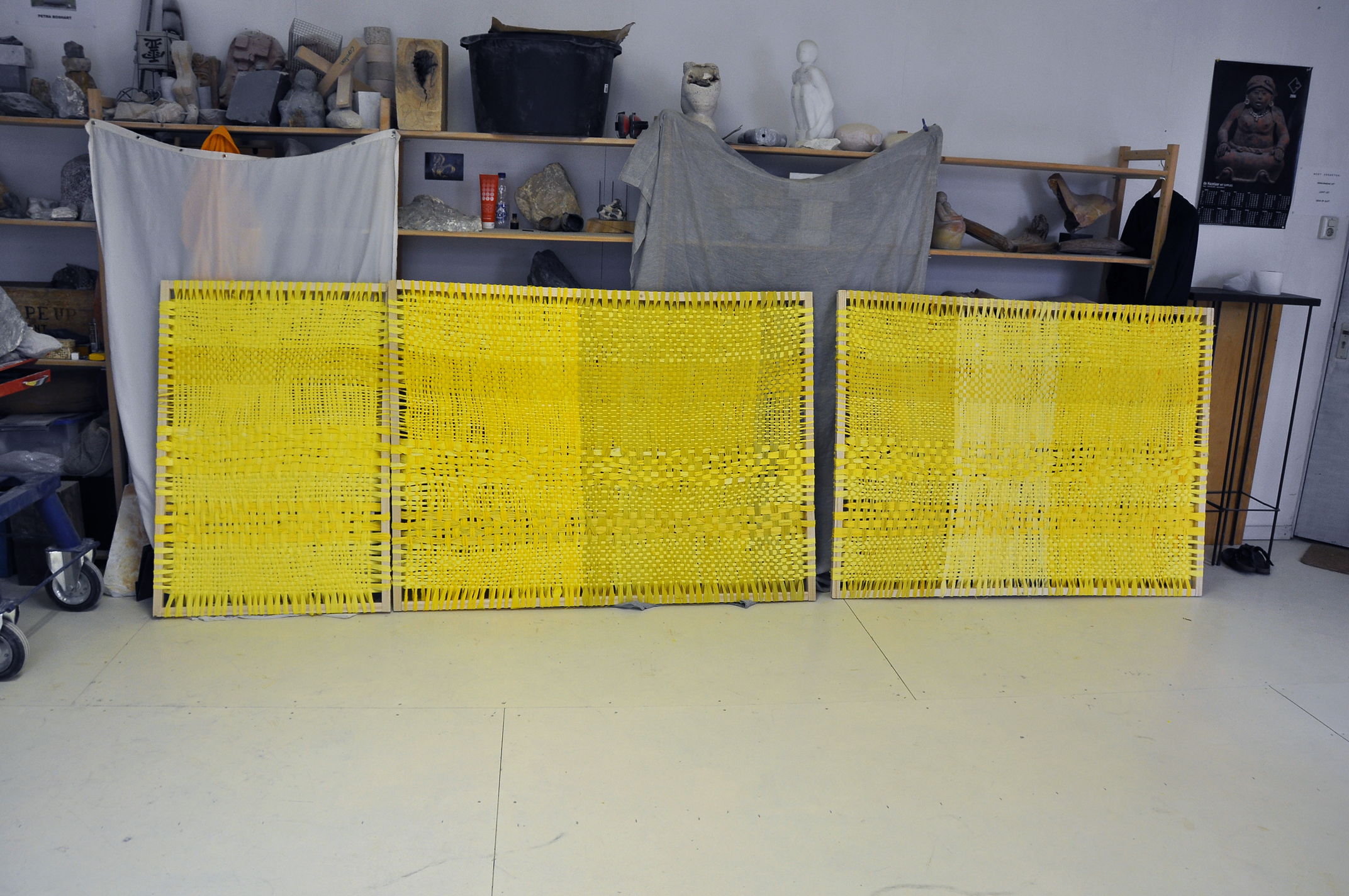 Diptych (yellow), 2015 - in progress