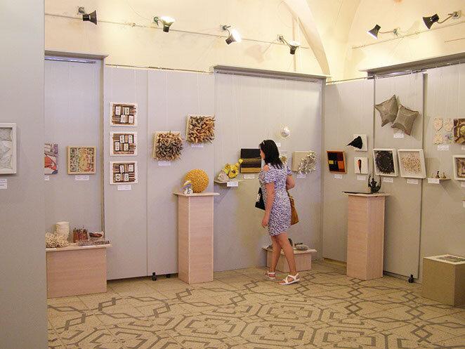 8th International Biennial Exhibition of Contemporary Mini Textile Art Scythia, Ivano-Frankivs'k, Ukraine, 2017