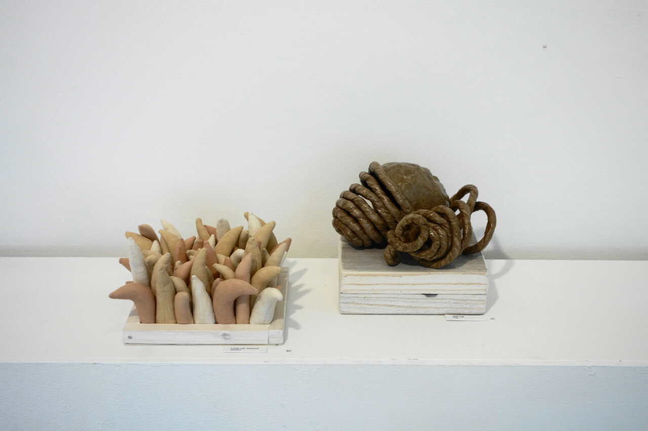 Mini Textile at HAWAR Gallery, Oldeberkoop, 2017