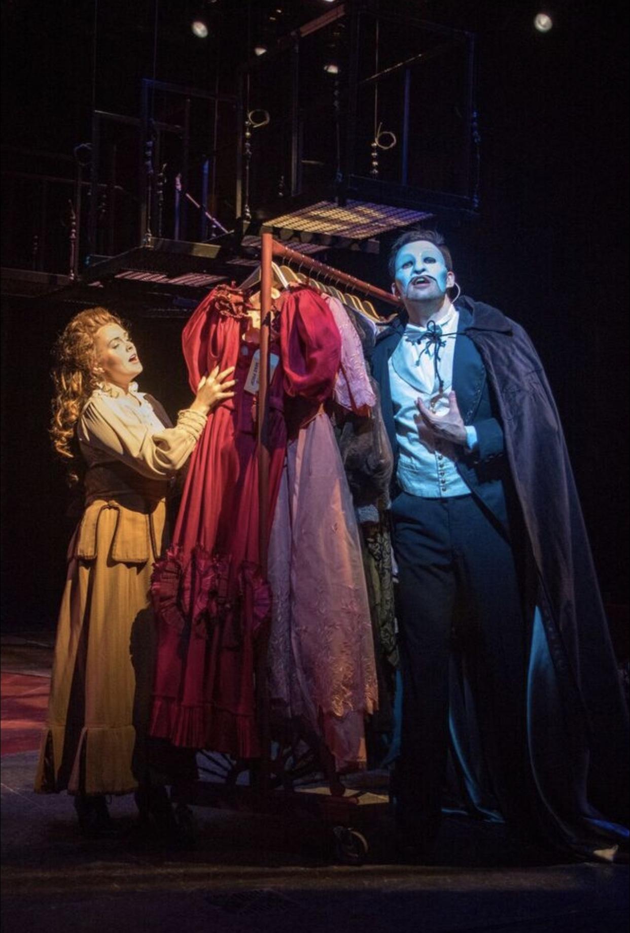 Home, Kayleen Seidl as Christine and Matthew Billman as Phantom