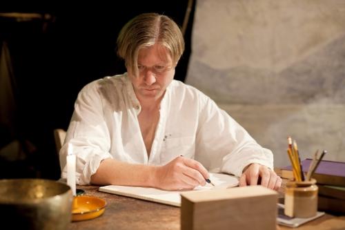 Daniel Simpson as Ted Hughes in Ann Henning Jocelyn's Doonreagan