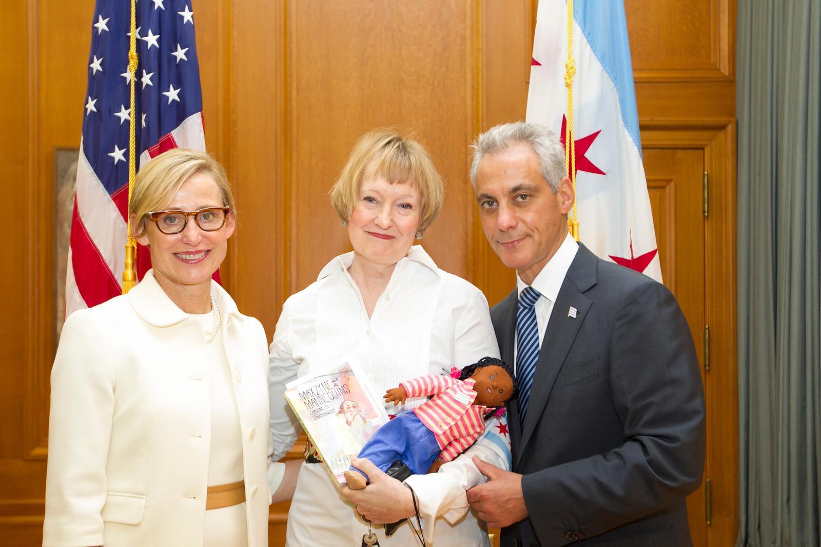 Maxzyne at Chicago Mayor Open House