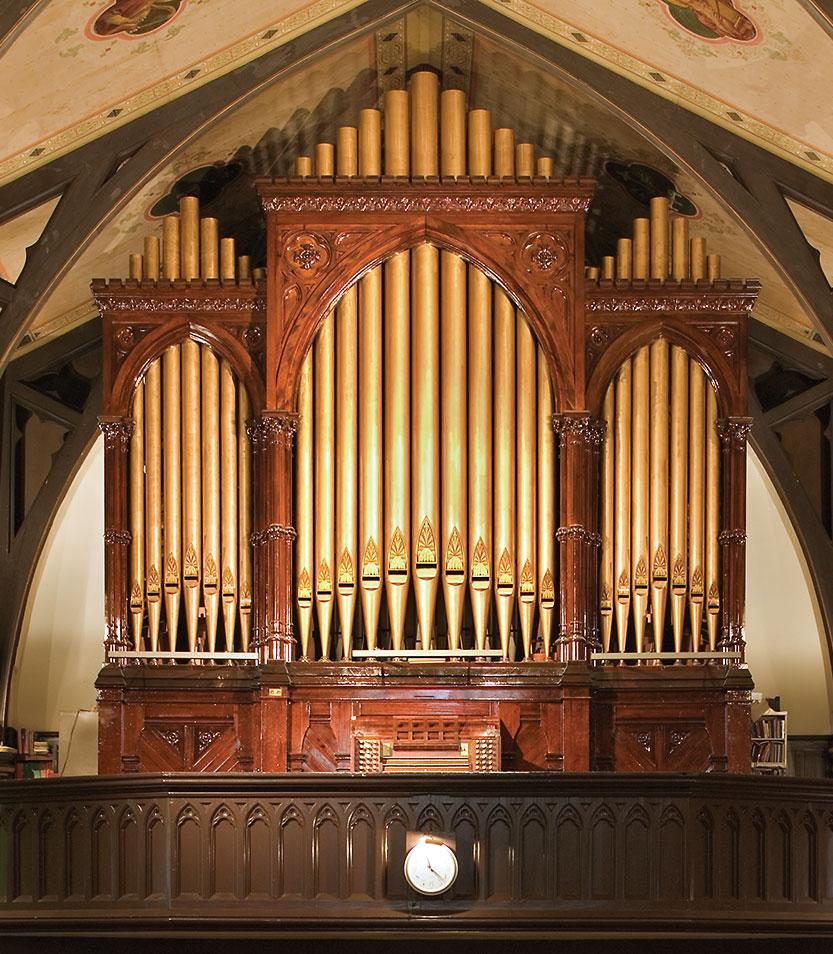 Odell opus 178, Church of St. Charles Borromeo, Brooklyn, New York