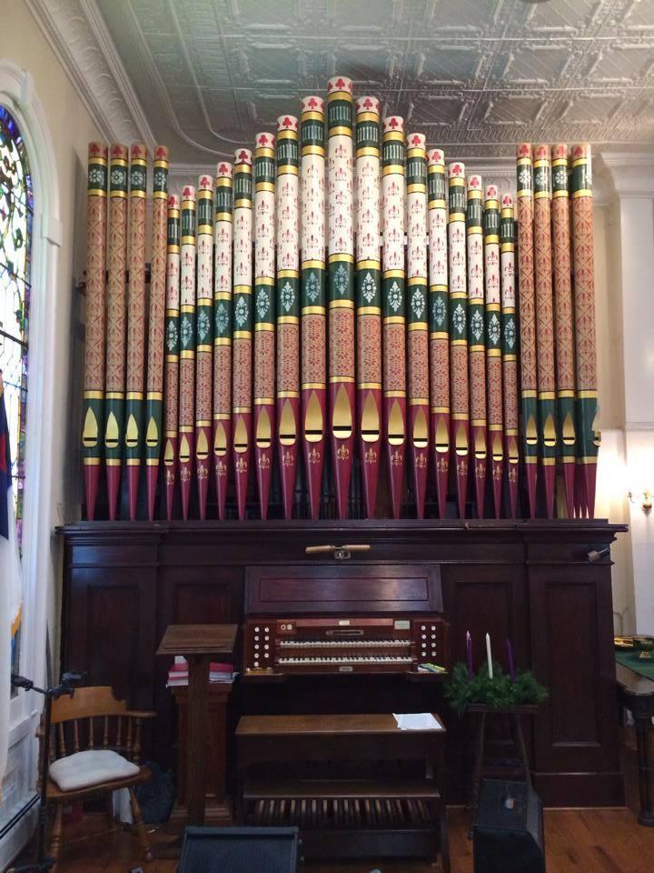 Odell opus 253, 1888, Reformed Church of Hyde Park, New York